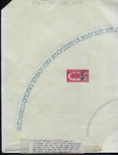 "Viet Nam Sc #347 RARE Special Print on Large 11""x17"" Sheet Half Circle Descript"