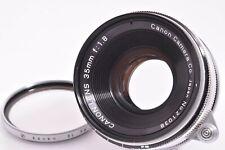 CANON 35mm/F1.8 Leica 39mm LMT screw mount  #21038