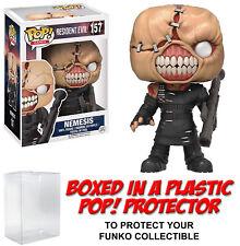 Funko POP! Games ~ NEMESIS (#157) VINYL FIGURE w/Protector Case ~ Resident Evil