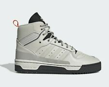 ADIDAS RIVALRY TR EE5533 WHITE MENS LEATHER MID TOP HIGH SHOES TRAINERS BOOTS
