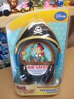 New- Disney Jake and the Neverland Pirates Treasure Tunes Headphones