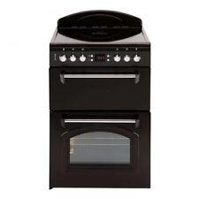 Leisure CLA60CEK Mini Range Cooker Classic 60cm Black Double Oven