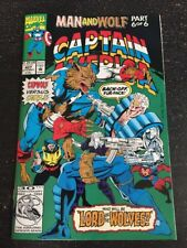 Captain America#407 Incredible Condition 9.0(1992) Cap-wolf, Wolverine, Cable!!