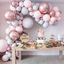 169Pcs Macaron Balloon Arch Garland Kit Wedding Baby Shower Birthday Party Decor