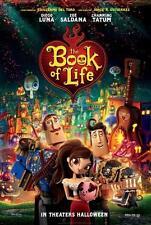 """BOOK OF LIFE -13.5""""x20"""" Original Promo Movie Poster 2014 MINT Guillermo Del Toro"""