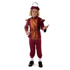 RAGAZZI Tudor King Costume MEDIEVALE RINASCIMENTO PRINCIPE LIBRO SETTIMANA BAMBINI FANCY DRESS