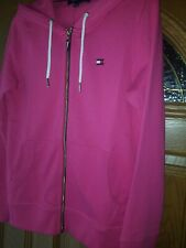 NWT Tommy Hilfiger Womens SZ Small Full Zip Pink Hoodie...