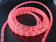 LED Lichtschlauch 12 V ca.5 Meter Rot mit Netzkabel 36 LED/M vertkal