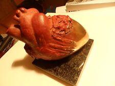 AMBROSIO : magnifique BRONZE de l'artiste italien, représentant un coeur (2000)