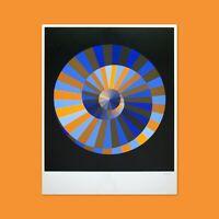 VASARELY EMBLEM Orig. 1972 Munich Olympics Artist Ltd Ed. Poster - 72 Olympic