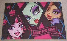 Monster High Pillowcase Bedding Draculaura Frankie Stein Clawdeen USA Seller