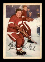 1953 Parkhurst #44 Marty Pavelich  VGEX X1499890