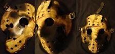Rare Toxic 8 Burned Mask Friday 13th Hockey HALLOWEEN  prop Horror Replica **