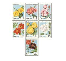 KUB7905 Roses 7 pcs MNH 1979