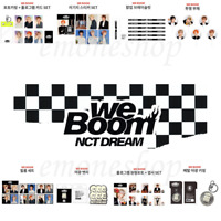 KPOP NCT DREAM [  WE BOOM ] POP UP STORE OFFICIAL GOODS + Tracking Number