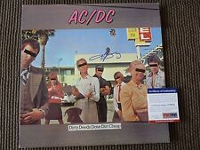 AC/DC Angus Young Dirty Deeds Signed Autographed LP Album PSA Certified