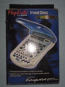 Portable Chess Computer «Mephisto from Saitek». Model «Travel Chess». Vintage