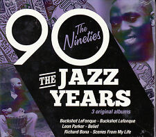 COFFRET 3 CD 37T THE JAZZ YEARS THE NINETIES LEFONQUE/BONA/LEON PARKER NEUF SCEL