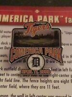 Willabee & Ward Comerica Park Stadium Detroit Tigers MLB Baseball Pin W/Card