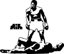 Sticker Mohamed Ali - 68x57 cm