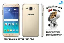 Telefono Movil SAMSUNG Galaxy J7 2016 Color ORO SMARTHPHONE LIBRE. 16GB, 4G