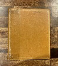 "Vintage Ful-Vu Leather Binder Book Cover - 6-1/4"" x 7-1/2"""