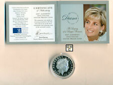 2007 Alderney -Princess Diana Legacy of a Unique Woman 5 Pound Silver Proof Coin