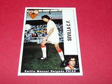 E.M. DELGADO PEIXE FUTBOL SEVILLA CF PANINI LIGA 95-96 ESPANA 1995-1996 FOOTBALL