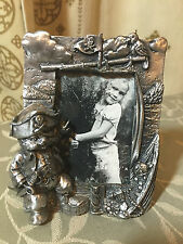 CAT -Photo Frame Pewter -CAT PIRATE -275 grams. Small - BRAND NEW jn16 - D1