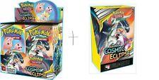 Pokemon Sun & Moon Cosmic Eclipse Booster Box + Build and Battle Deck!