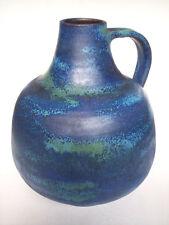 Keramik Vase Anton Lang Oberammergau West-Germany Art Pottery WGP vintage 21cm