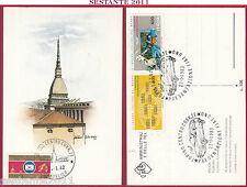 ITALIA MAXIMUM MAXI CARD TORINO MOLE ANTONELLIANA PRESENT. FIAT UNO 1983 C107