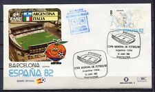 S13659) Spain 29.6.1982 FDC Fifa Wc Football Argentina 1 - Italy 2