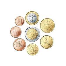 manueduc  ITALIA 2002  Las 8 Monedas  DANTE NUEVAS