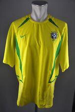 Brasilien Trikot Gr. XL Nike Jersey 2002-2004 Home Brazil maglia vintage