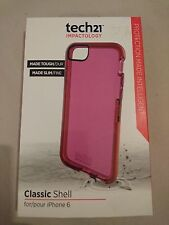Genuine tech21 Classic Shell Impact Protection Case for iPhone 6 (Pink)