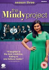 The Mindy Project: Season / Series 3 - DVD NEW & SEALED (3 Discs) - Mindy Kaling