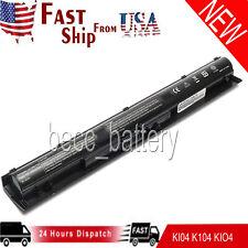 Battery for K104 HP Pavilion 14-ab 15-ab 15-an 17-g Series TPN-Q158 TPN-Q159