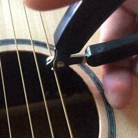 3in1 Guitar Winder + String + Pin Puller For Guitar Mandolin Banjo C2X8 W7J8