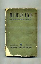 Murasaki Scikibu # LA SIGNORA DELLA BARCA # Bompiani 1944