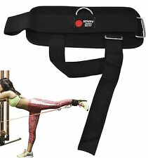 Senshi Glute Ankle Thigh Strap Cable Machine Multi Gym Fitness Exercise Workout