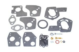 Carburetor Overhaul Rebuild Kit for Briggs & Stratton 495606 - 5hp, Horizontal