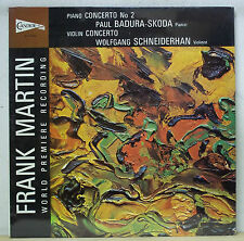 Badura-Skoda/Schneiderhan MARTIN Concertos - Candide CE 31055 SEALED
