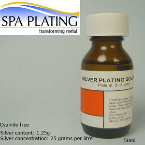 Silver Brush Electro Plating Solution 50ml