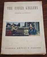 Uffizi Gallery Handbook and Itinerary 1958 Published by Florence Arnaud