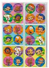"80 Bubble Guppies Mini Stickers, 1.2"" Round Each, Party Favors"