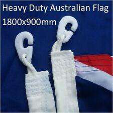 ** PRICE DROP ** HEAVY DUTY 1800x900 Australian Flag Polyester Sister Clips