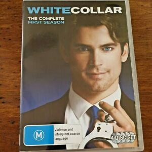 White Collar The Complete First Season DVD R4 VERY GOOD – FREE POST