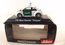 Schuco 04537 Volkswagen VW New Beetle Polizei neuf 1/43 MIB limited edition 1/43