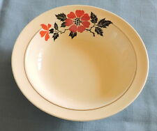 "Hall Red Poppy 5 1/2""  Berry Bowl - C2949"